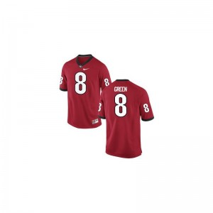 Men A.J. Green Jerseys S-3XL UGA Bulldogs Red Limited