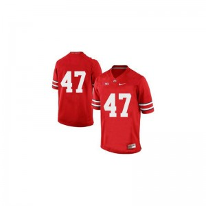 A.J. Hawk OSU Jerseys Game For Men Red