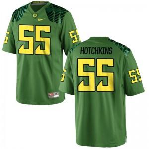Ducks A.J. Hotchkins For Men Game Jersey Apple Green