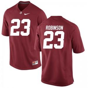 Aaron Robinson Bama Alumni Jersey Red Men Game Jersey