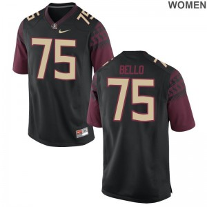 Abdul Bello FSU Seminoles Jerseys S-2XL Limited Black Ladies