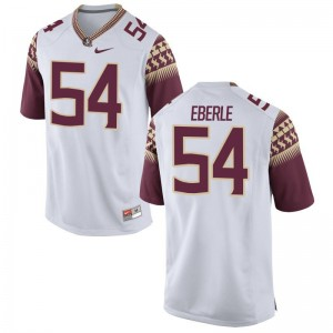 Alec Eberle FSU NCAA Jersey White For Men Limited Jersey
