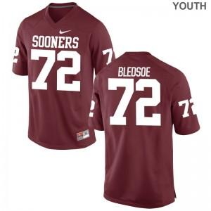 Crimson Amani Bledsoe Player Jerseys Sooners Limited Youth(Kids)