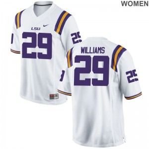 Tigers Jerseys of Andraez Williams Ladies White Game