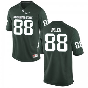 Andre Welch For Men Green Jersey Michigan State Spartans Game