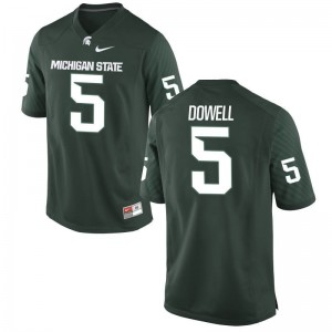 Game Andrew Dowell Jerseys Mens MSU - Green