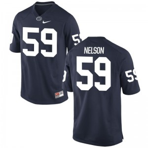 Nittany Lions Andrew Nelson Men Navy Game Jersey