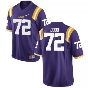 Tigers Player Jersey Andy Dodd Purple For Men Game