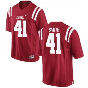 For Men Game Football Ole Miss Jerseys Antwain Smith Red Jerseys