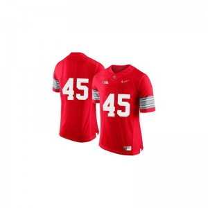 Archie Griffin Ohio State Men Jersey Red Diamond Quest Patch Game Jersey