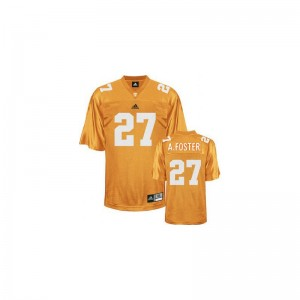 Vols Arian Foster For Men Game Jersey Orange