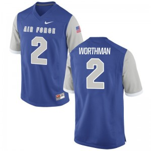 Arion Worthman USAFA High School Jerseys Game Men Royal