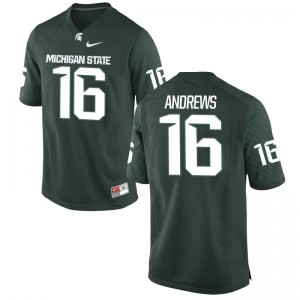Austin Andrews MSU Jersey Green Mens Game Jersey