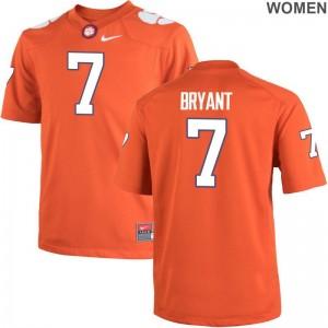 Clemson Tigers Womens Orange Game Austin Bryant Jerseys S-2XL