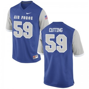 Austin Cutting USAFA Mens Jerseys Royal Game Jerseys