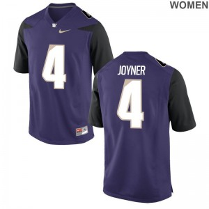Austin Joyner Washington Huskies Alumni Jerseys Limited Ladies Purple