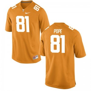UT For Men Game Orange Austin Pope High School Jersey