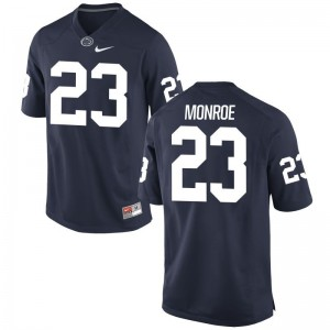 Penn State Nittany Lions Jersey of Ayron Monroe Mens Navy Game