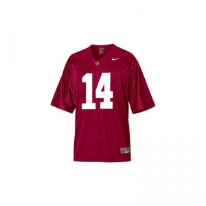 Barack Obama Limited Jersey Womens High School Bama Red With 14TH Championship Anniversary Jersey