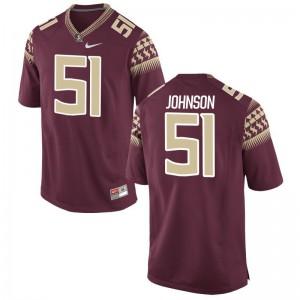 FSU Seminoles Baveon Johnson Jersey Football For Men Limited Garnet Jersey