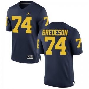 Michigan Ben Bredeson Football Jerseys Game Mens - Jordan Navy
