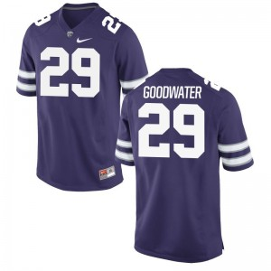 Bernard Goodwater Men Purple High School Jersey Kansas State Wildcats Game