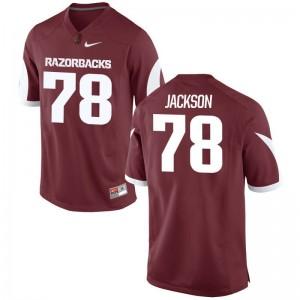 Bijhon Jackson Arkansas Player Jersey For Men Game - Cardinal