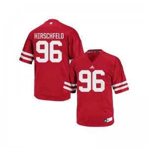 UW Billy Hirschfeld Replica Men Jerseys - Red