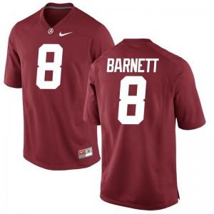 Game Red Ladies University of Alabama Football Jersey of Blake Barnett