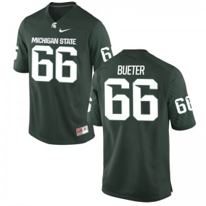 Blake Bueter Michigan State Men Game Jersey - Green