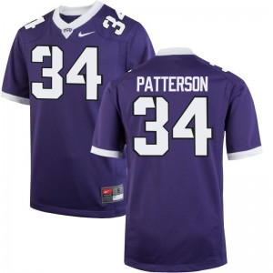 Horned Frogs Game Purple Mens Blake Patterson NCAA Jersey