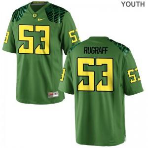 Blake Rugraff University of Oregon NCAA Jersey For Kids Apple Green Limited