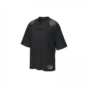 For Men Game Alumni UO Jersey Blank Black Jersey