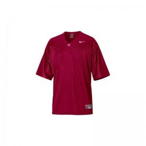 Blank Football Jersey Alabama Crimson Tide Game Mens - Red
