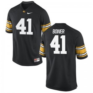 University of Iowa Bo Bower Game Men Jersey S-3XL - Black
