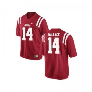 Red Bo Wallace Jersey S-3XL Rebels Mens Game