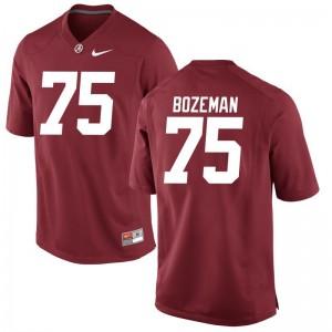 Game Red Bradley Bozeman Alumni Jersey Men Bama