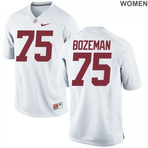 Alabama High School Jersey Bradley Bozeman Limited White Womens