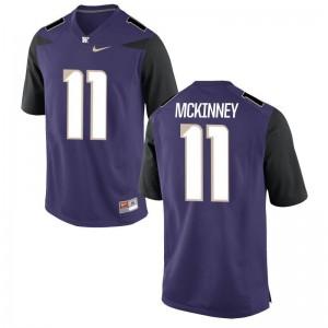 Brandon McKinney Washington Game For Men Jersey S-3XL - Purple