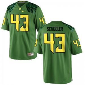 S-3XL Ducks Brenden Schooler Jersey Player Men Game Apple Green Jersey