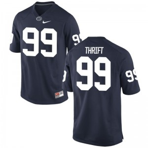 Nittany Lions Brenon Thrift Men Navy Game NCAA Jerseys