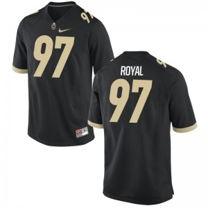 For Men Brooks Royal Jersey S-3XL Purdue Game Black