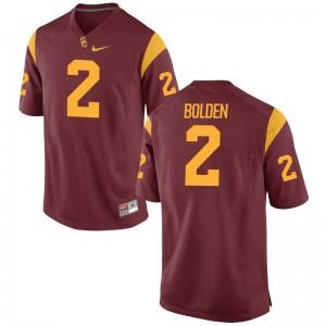 USC Bubba Bolden Jerseys S-3XL For Men Game White