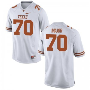 White Buck Major Jerseys S-2XL Texas Longhorns Limited For Women
