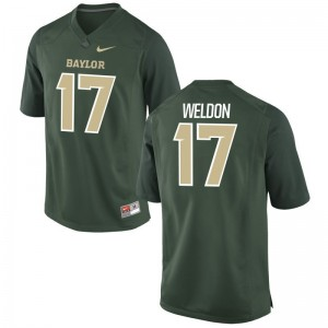 Cade Weldon For Men Jerseys Green Game Miami