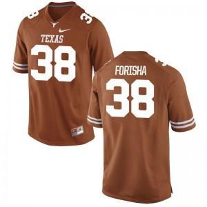 UT College Jerseys Caden Forisha Game Men Orange