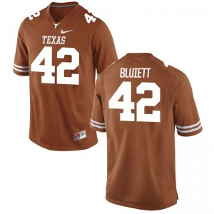 UT Caleb Bluiett NCAA Jerseys Mens Game Orange