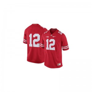 Cardale Jones Mens Jersey Ohio State Game - Red