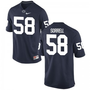 Navy Chance Sorrell College Jersey Penn State Game Men