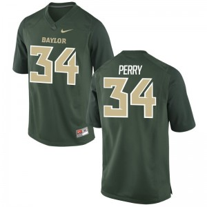 Charles Perry Miami Men Green Game College Jerseys